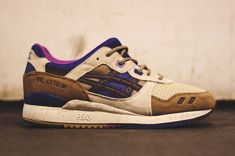 Asics Gel Lyte III – Light Brown – Dark Brown – Ink Blue