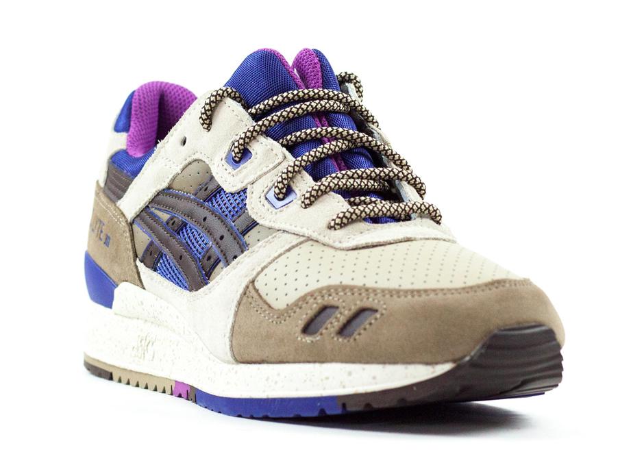 76d94a7fb14d Asics Gel Lyte III - Light Brown - Dark Brown - Ink Blue - SneakerNews.com