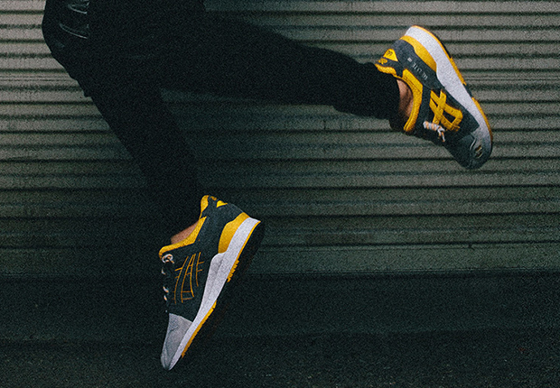 a2662c3caaae9 Asics kicks off their new Asics Tiger imprint and the celebration of the Gel  Lyte III s 25th anniversary with an energized pack of the classic  split-tongued ...