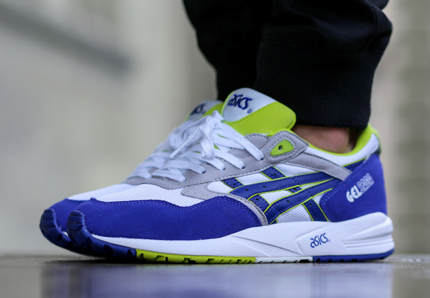 asics gel saga black/white-neon