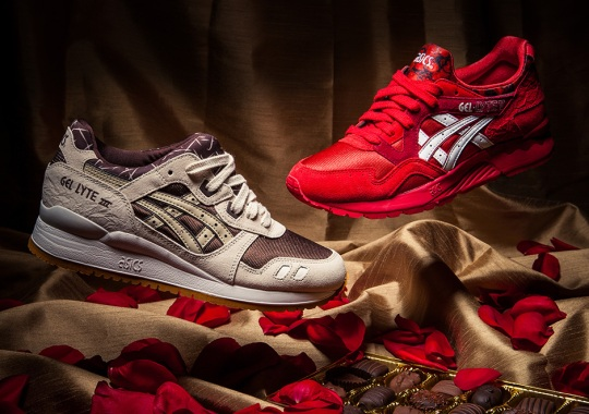"Asics ""Romance Pack"" for Valentine's Day 2015"