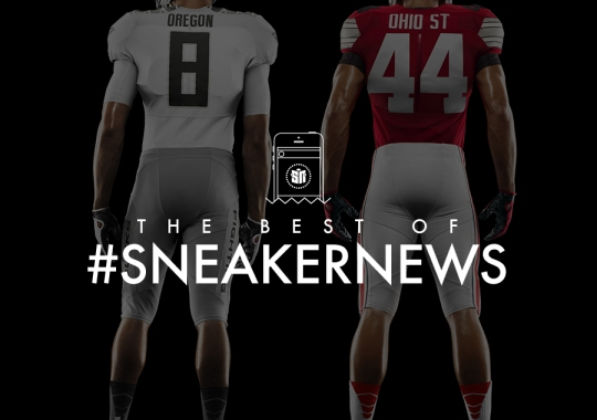Best Of #SneakerNews: Ducks vs. Buckeyes