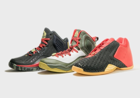 """adidas Hoops """"Year of the Goat"""" Pack – Release Date"""