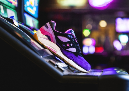 "Feature Continues Its Vegas Inspired Saucony Collection With ""The Barney"""