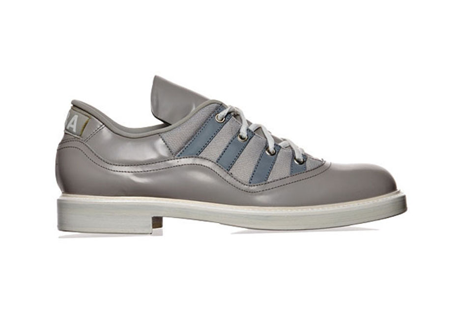 """b7054d3a2fe4aa This dress-shoe-ized version of the """"Cool Grey"""" Air Jordan XI is a great  example of a high-end fashion brand getting away with an accepted knock-off  thanks ..."""