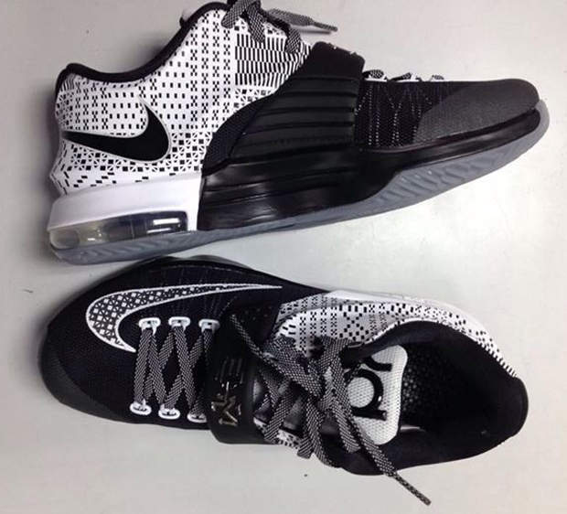 "low priced 66fbf 1e5f4 Nike KD 7 ""BHM"" Color  Black White-Wolf Grey Release Date  01 24 15"