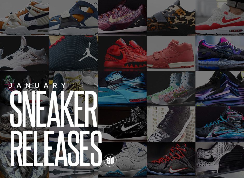 January 2015 Sneaker Releases