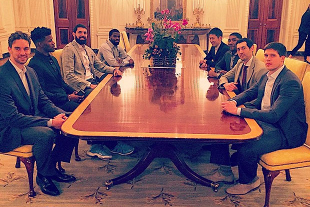 This NBA Player Wore Air Jordan 11s At The White House
