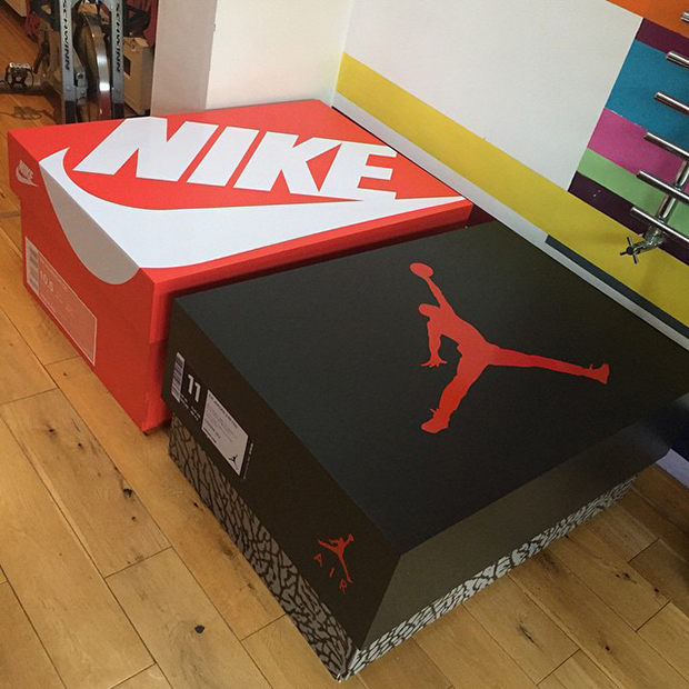 Awesome Sneaker Storage Solution Inspired By Air Jordan 3