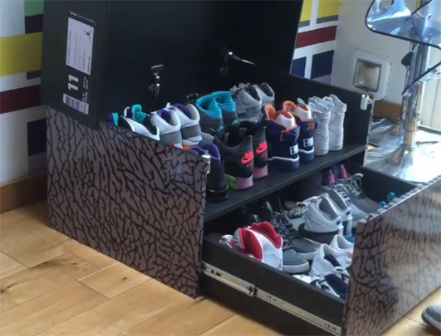 Jordan  Shoe Box Storage