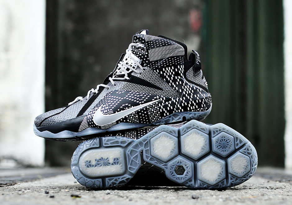 Nike Lebron 12 Quot Bhm Quot Release Date Sneakernews Com