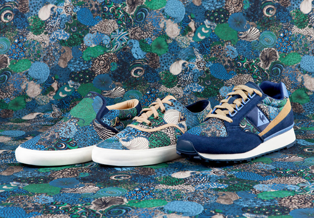 "e8303ac98ae4 Liberty x Le Coq Sportif ""Midnight"" Pack"