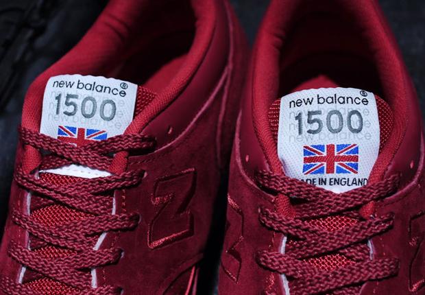 New Balance 1500 Laget I England Rødt 9krbU0Pih