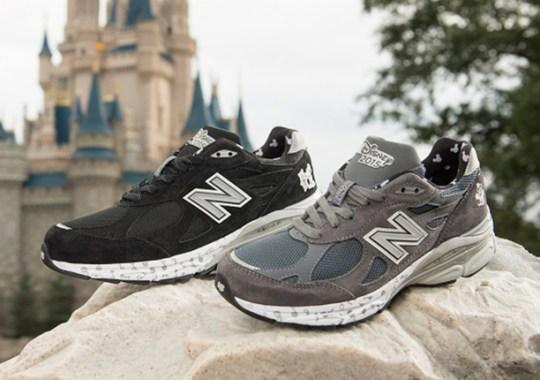 "Mickey & Minnie Mouse x New Balance 990v3 ""Walt Disney World Marathon"" Edition"