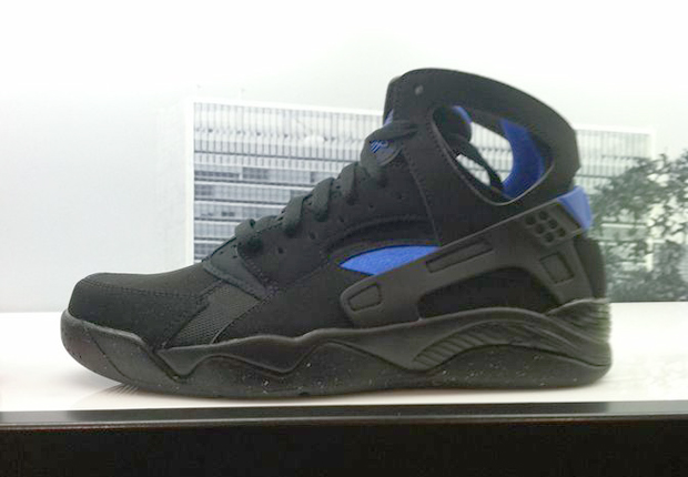 Huarache Nike Black And Blue