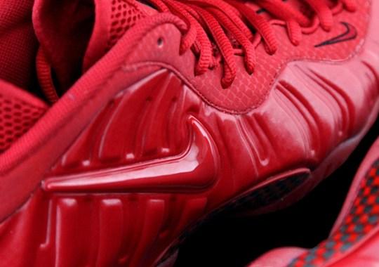 "Nike Air Foamposite Pro ""Red October"" Releasing in April"