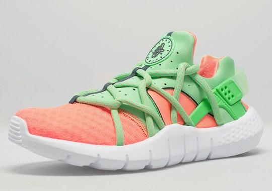 Nike Air Huarache NM – Total Orange – Poison Green