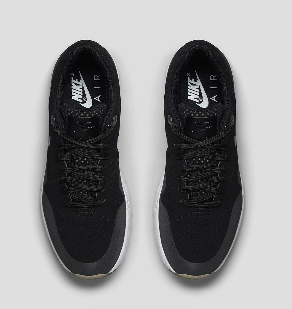 suede nike air max ultra moire black