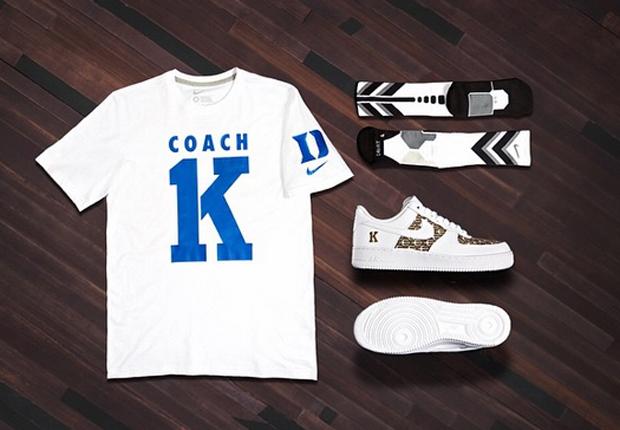 info for 53825 b7b59 Nike Basketball Celebrates Coach K's 1,000th Win With Custom ...