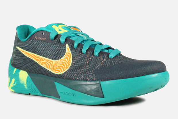 d4e4021d110a Nike KD Trey 5 II Color  Dark Emerald Volt-Total Orange Style Code   653657-378. Price   150