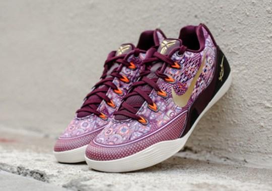 """wholesale dealer 4124a 66ee7 Nike Kobe 9 EM """"Silk"""" – Release Reminder"""