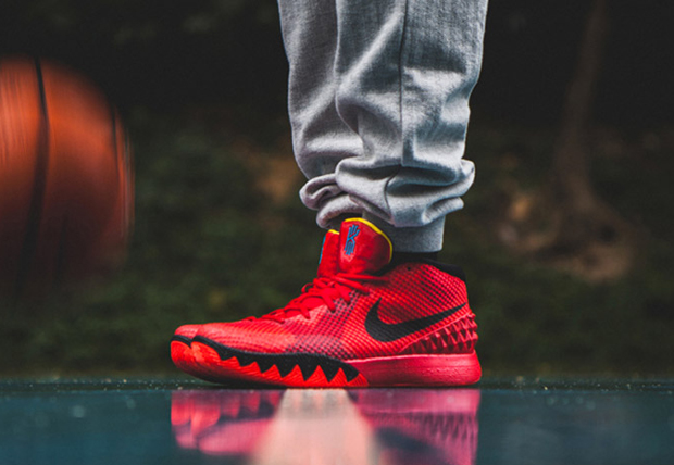 red lebrons lebron james shoes 1