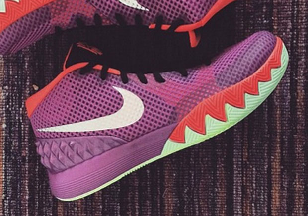 finest selection eba4a efe6c Nike Kyrie 1 - Maroon - Red - White - SneakerNews.com