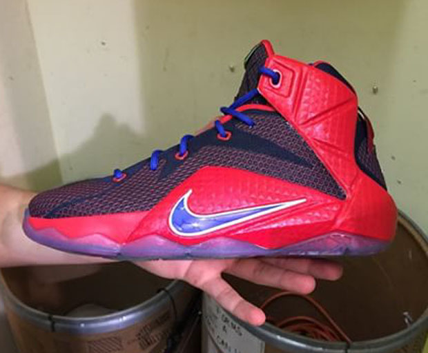 Lebrons 11 Blue And Red Nike LeBron 12 ...