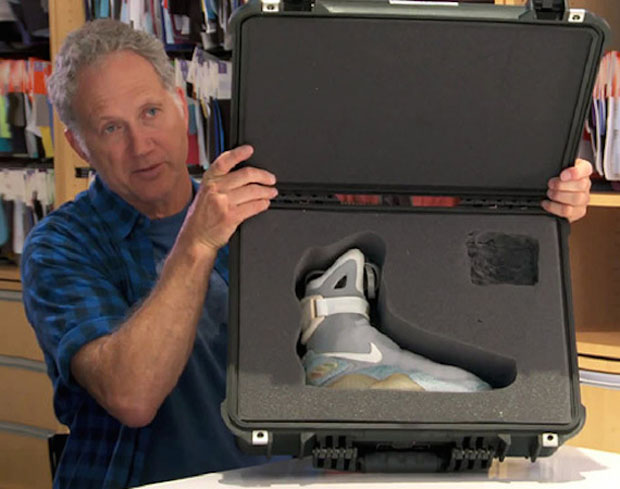 76d524dd34301f Tinker Hatfield had some big news when he took the stage yesterday at  Agenda Emerge – he confirmed the release of the Nike Air Mag in 2015.