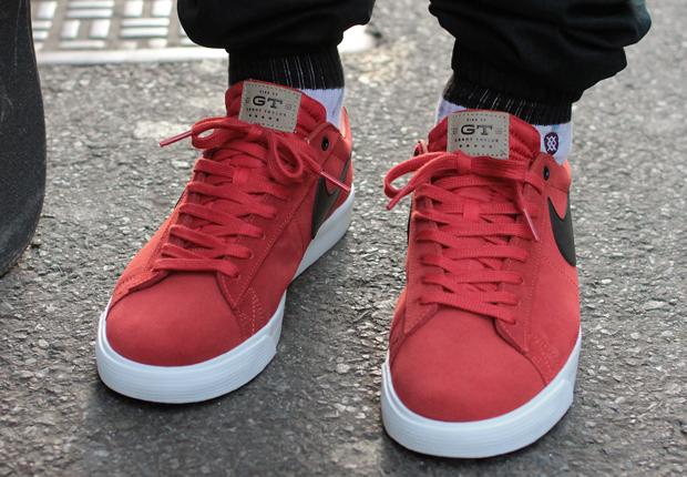 new product f3ad6 9f6bb Stratosphere x Nike SB Blazer Low GT - SneakerNews.com