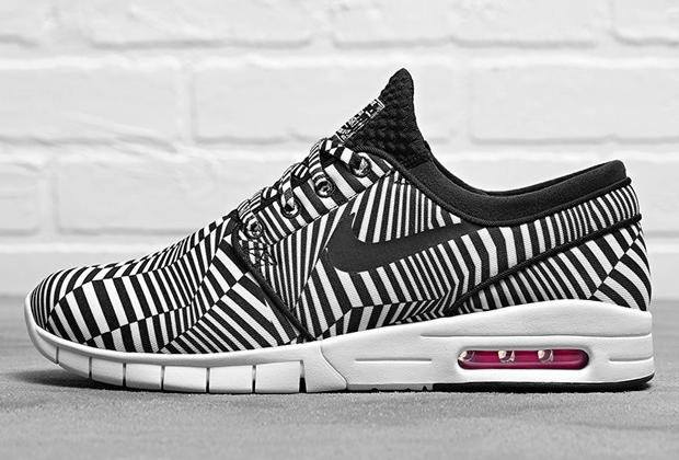 Nike Sb Janoski Max Zebra