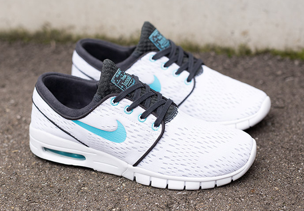 nike sb stefan janoski max white clearwater. Black Bedroom Furniture Sets. Home Design Ideas