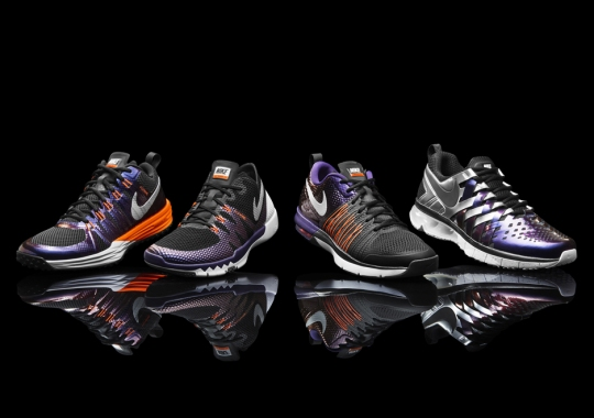 "Nike Unveils Superbowl XLIX ""Solar Flare"" Collection"