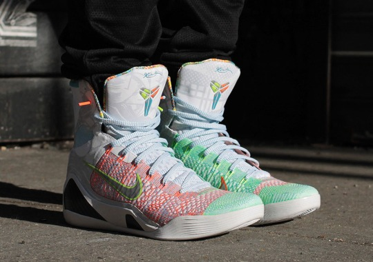 "Nike ""What The Kobe"" 9 Elite – On-Feet Images"