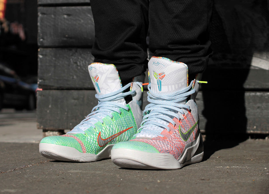 What The Kobe 9 On-Feet Images