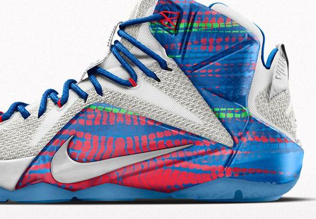 Nike Lebron 12 - 2015 01 12 Nikeid Lebron 12 23 Chromosomes Option De