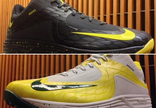 Oregon Ducks Baseball Gets New Nike Lunar Pre-game PEs