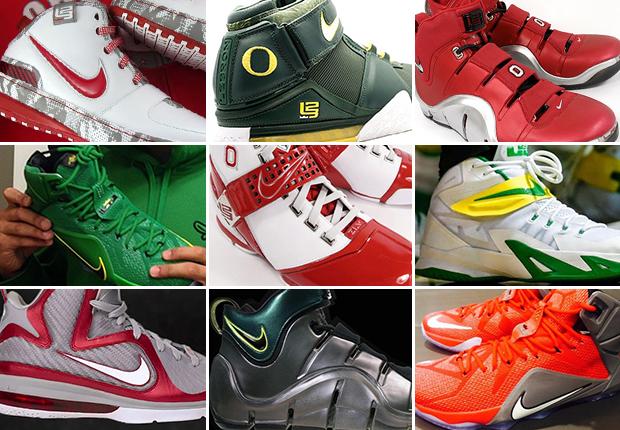 ece4019e9dc Oregon VS. Ohio State   Who Has The Better LeBron PEs  - SneakerNews.com