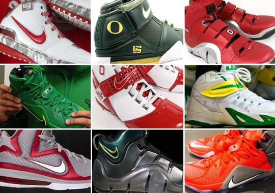 Oregon VS. Ohio State : Who Has The Better LeBron PEs?