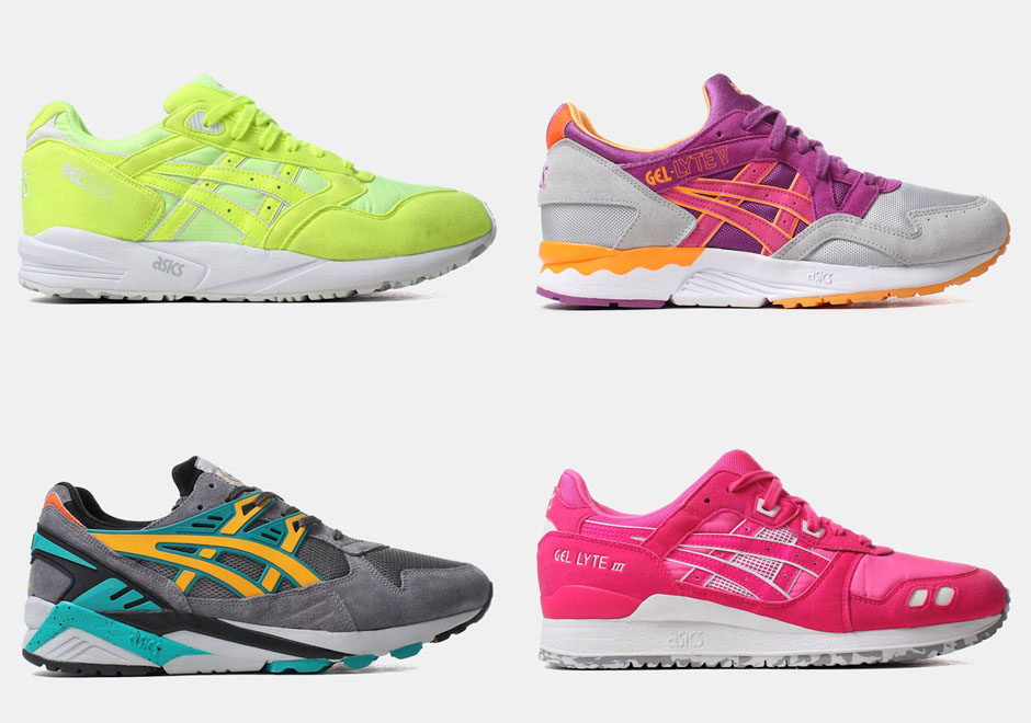 a preview over 30 pairs of asics sneakers to expect for spring 2015. Black Bedroom Furniture Sets. Home Design Ideas