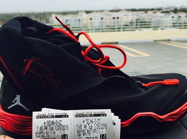 new product ec883 1150d Ray Allen Giving Away Another Pair of Air Jordan PEs Through ...