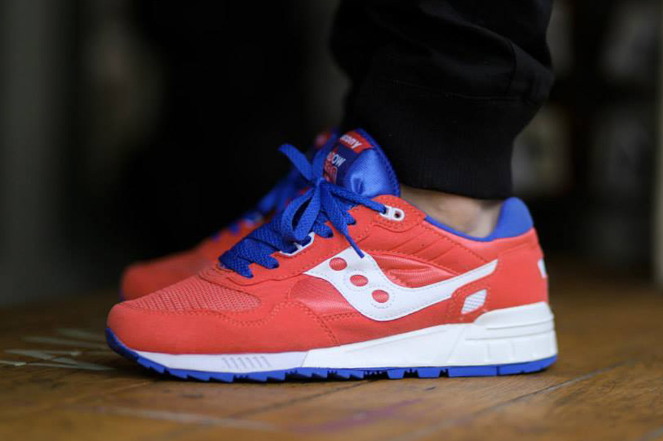 Saucony Shadow 5000 - Red - Blue