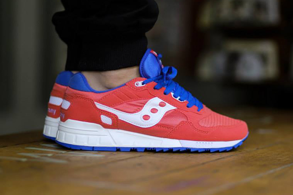 ostello proiettore Pacifico  Saucony Shadow 5000 - Red - Blue - White - SneakerNews.com