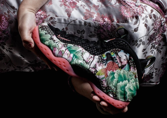 "A Detailed Look at the Nike Air Foamposite One ""Tianjin"""