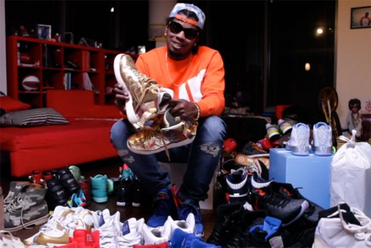 """Trinidad Jame$ Picks Out His Favorite Sneakers of 2014 in the Latest """"Camp Jame$"""""""