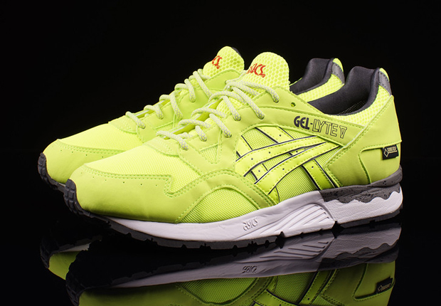 """1e35c60262f9 Philadelphia s UBIQ got a second chance at the Gel Lyte V recently as we  saw their vibrant """"Hazard"""" colorway release exclusively at their doors."""