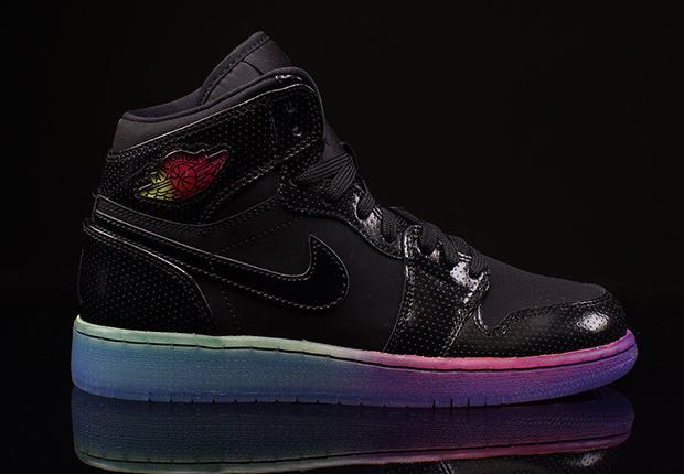 Air Jordan 1 Basses Couleurs De Larc