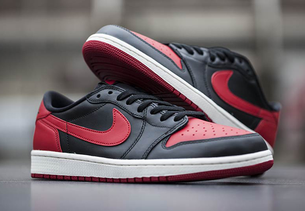 "7c491266344fcd Air Jordan 1 Retro Low OG ""Bred"" – Arriving at Retailers"
