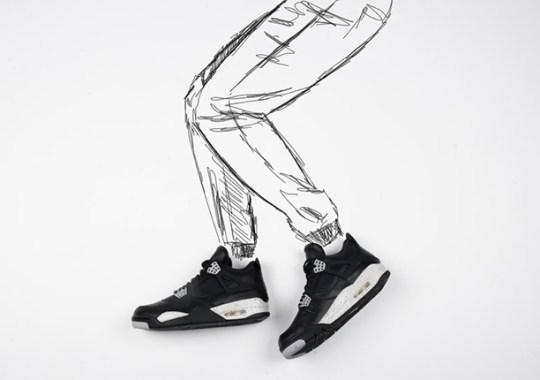 "Air Jordan 4 ""Oreo"" – Release Reminder"
