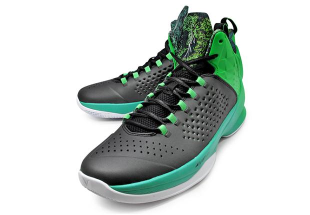 Nike Jordan Melo M11 X Black Lt Green Spark